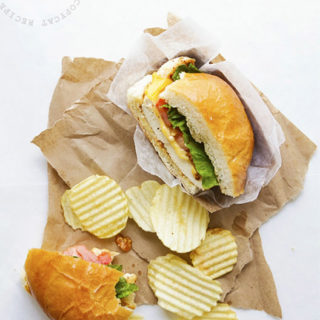 SmashChicken Classic Sandwich via Real Food by Dad