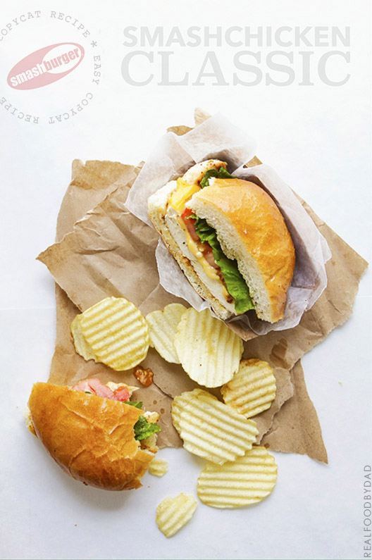 SmashChicken Classic Sandwich - Grab the secret recipe and make this for $2 vs $7 | Real Food by Dad