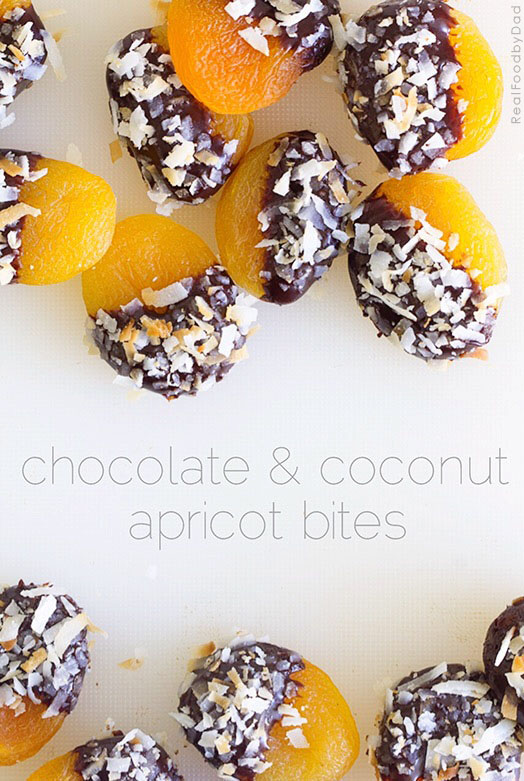 Chocolate-dipped Apricots | Real Food by Dad