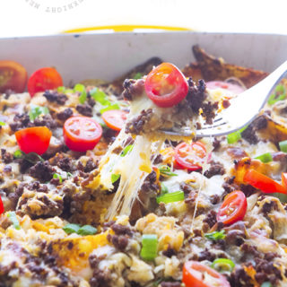 Beefy Nacho Casserole from Real Food by Dad