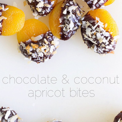 Chocolate Dipped Apricots Real Food by Dad
