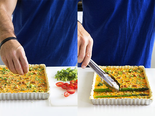 Easy Asparagus Quiche_Process Shots_Real Food by Dad