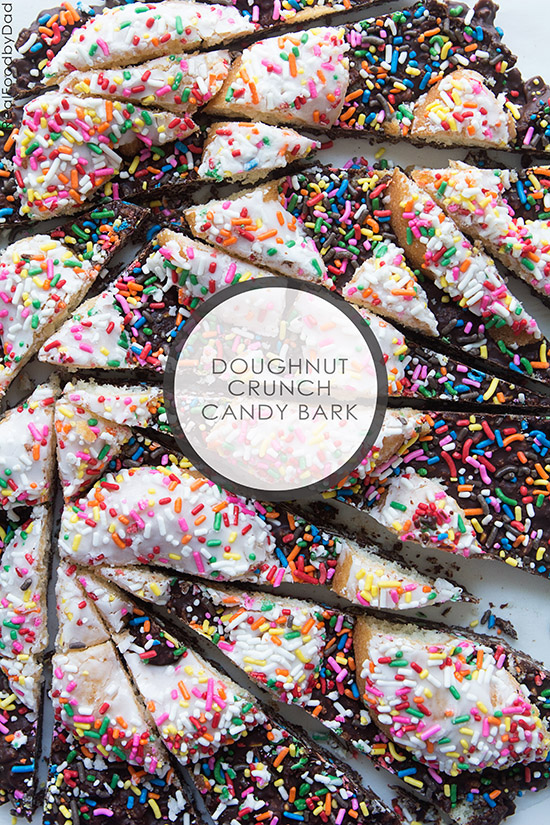 1 Doughnut Crunch Candy Bark via RealFoodbyDad