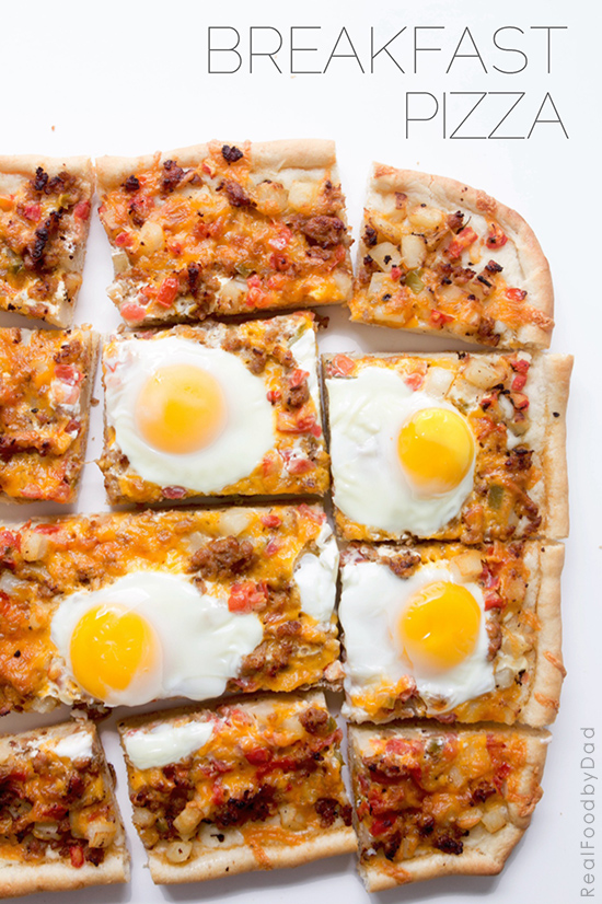Breakfast Pizza from Real Food by Dad