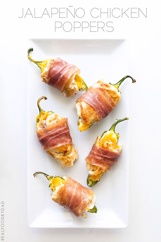 Jalapeno Chicken Poppers by Real Food by Dad