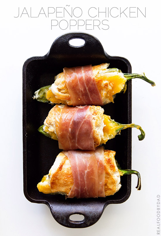 Jalapeno Chicken Poppers from Real Food by Dad