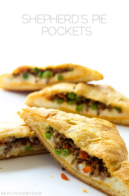 Shepherd's Pie Pocket by Real Food by Dad