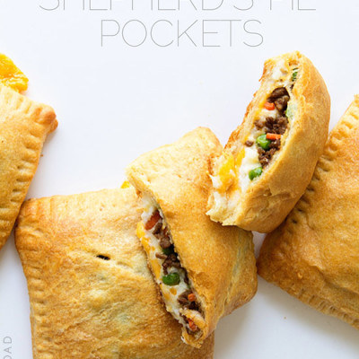 Shepherds Pie Pocket from Real Food by Dad