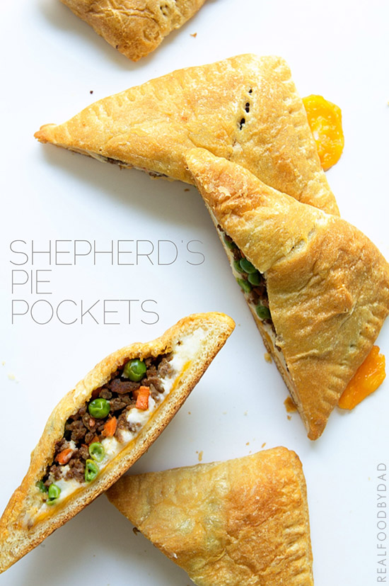 Shepherd's Pie Pocket via Real Food by Dad
