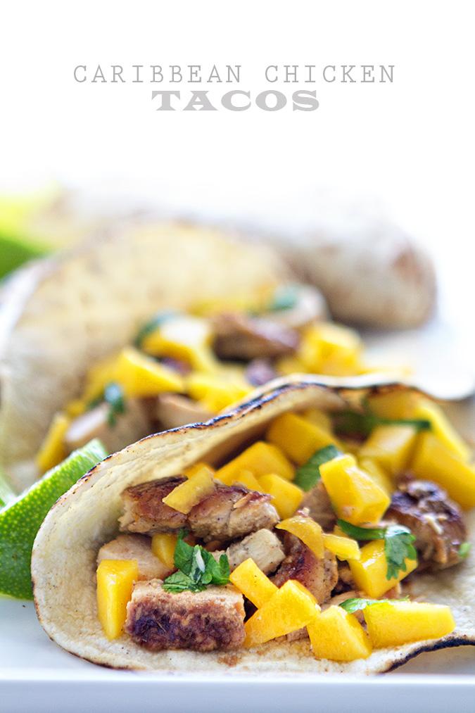 Caribbean Chicken Tacos 2