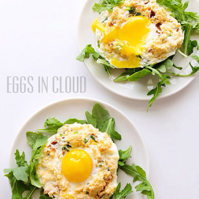 Eggs in Cloud from Real Food by Dad