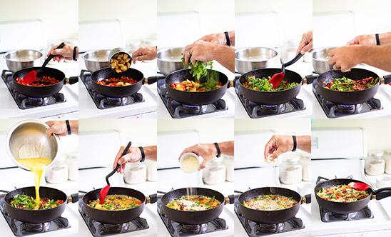 Frittaffle Process Shot via Real Food by Dad