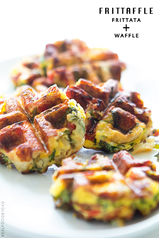 Frittaffle via Real Food by Dad