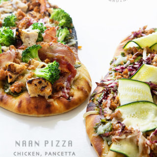 Naan Pizza by Real Food by Dad