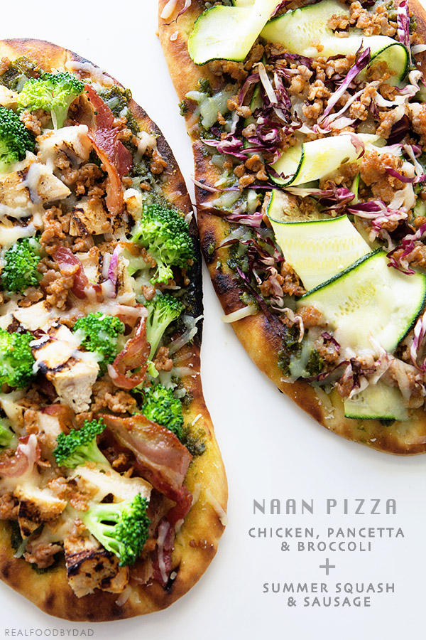 Naan Pizza from Real Food by Dad