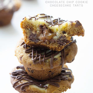 Chocolate Chip Cookie Cheesecake Tart by Real Food by Dad