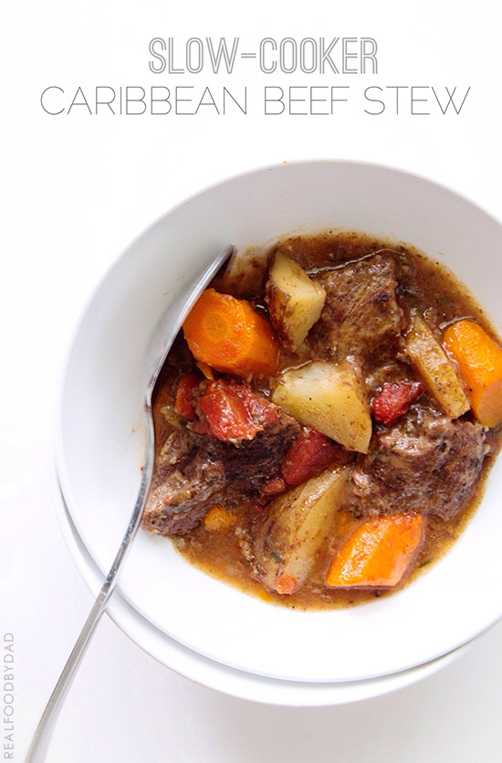 SLOW COOKER BEEF STEW VIA REAL FOOD BY DAD