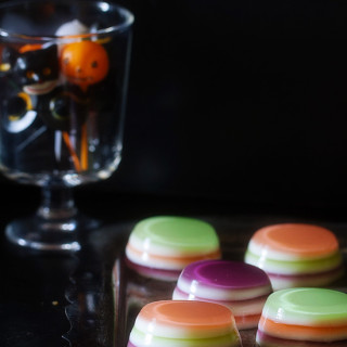 Halloween Vodka Jello Shots from Real Food by Dad
