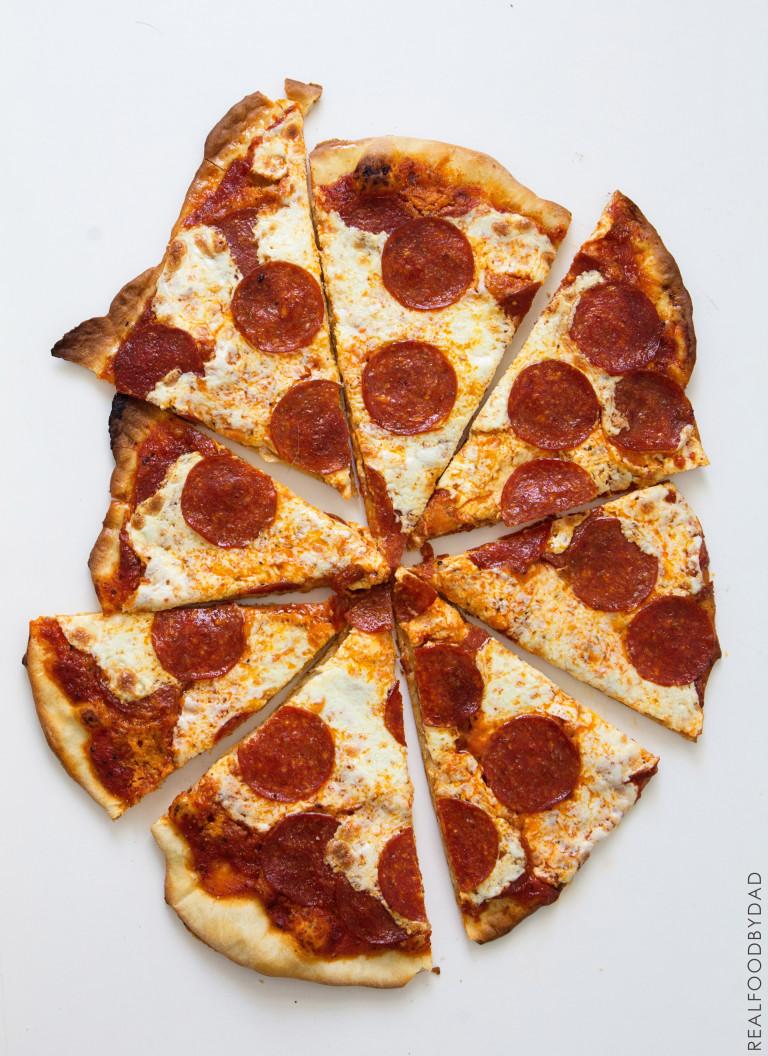 Pizza via RealFoodbyDad