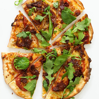 BLT Pizza via Real Food by Dad