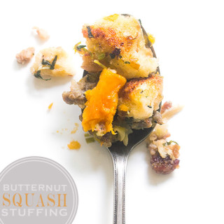 Butternut Squash Stuffing with Real Food by Dad