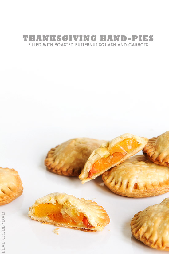 Thanksgiving Hand Pies from Real Food by Dad
