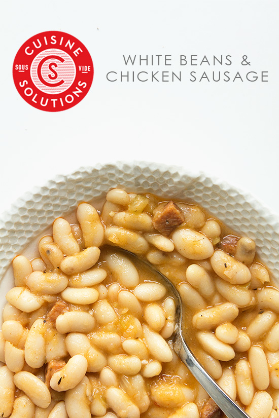 White Beans and Chicken Sausage with Real Food by Dad