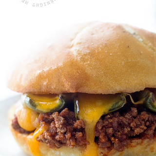 Sriracha Sloppy Joes with Roasted Jalapenos Real Food by Dad
