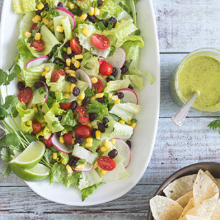 Tex Mex Salad via Real Food by Dad
