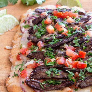 Carne Asada Pizza Real Food by Dad