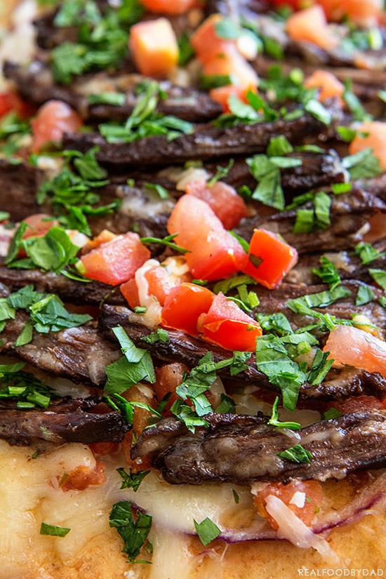 Carne Asada Pizza _ Real Food by Dad