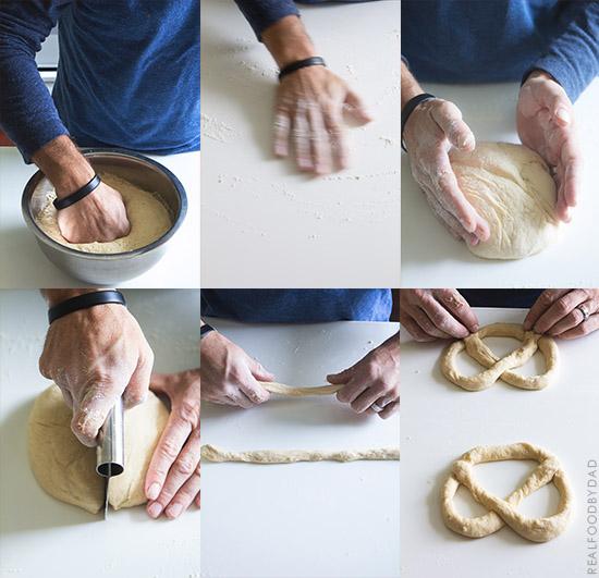 Homemade Pretzel Step-by-Step