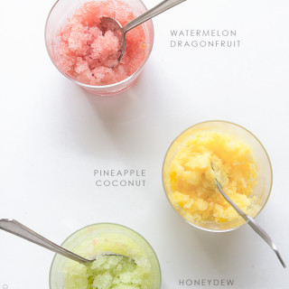 Fruit Granitas with Real Food by Dad