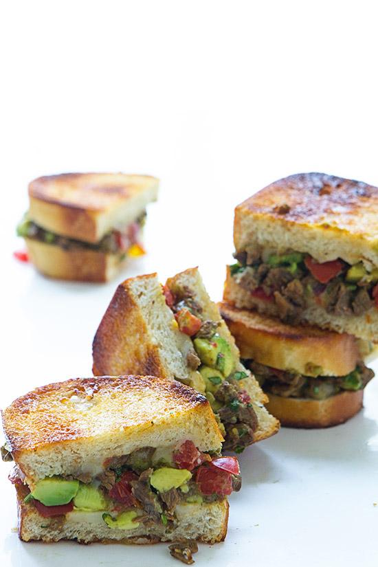 Carne Asada Melt via Real Food by Dad