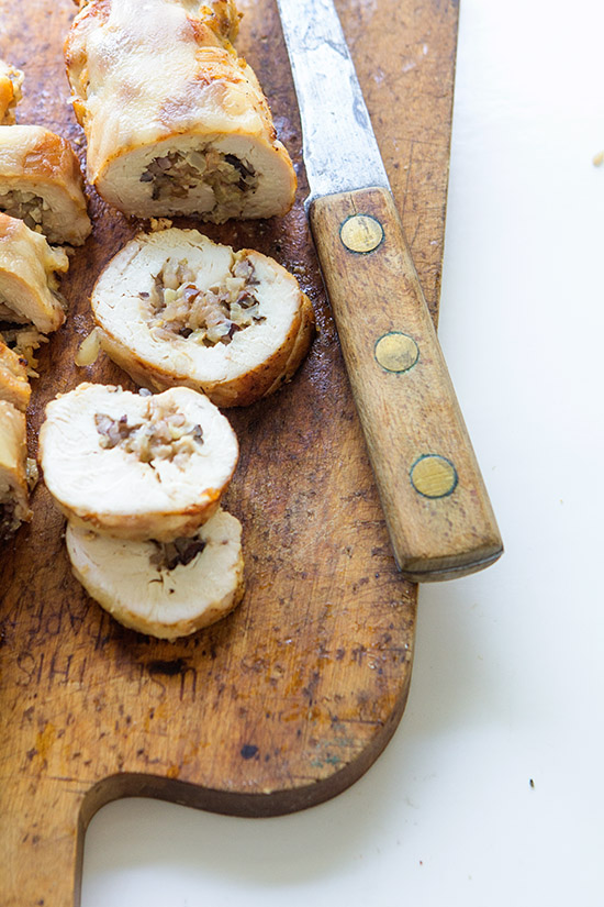 Chicken Stuffed Rolls via Real Food by Dad
