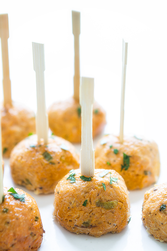 Buffalo Chicken Meatballs | Real Food by Dad