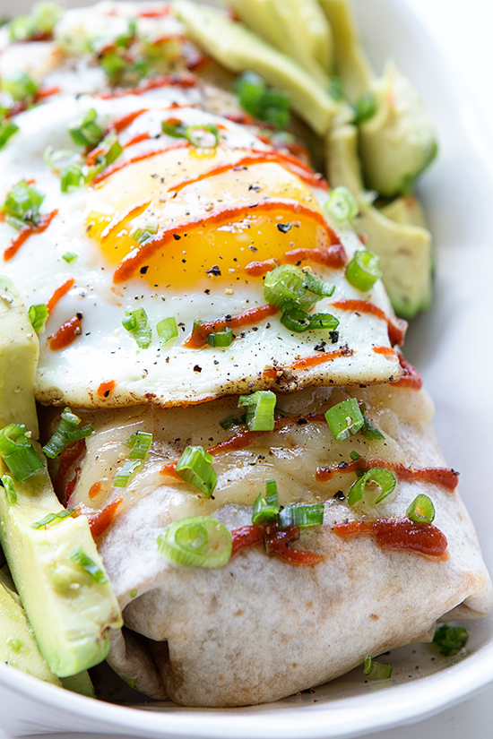 Ultimate Breakfast Burrito via Real Food by Dad