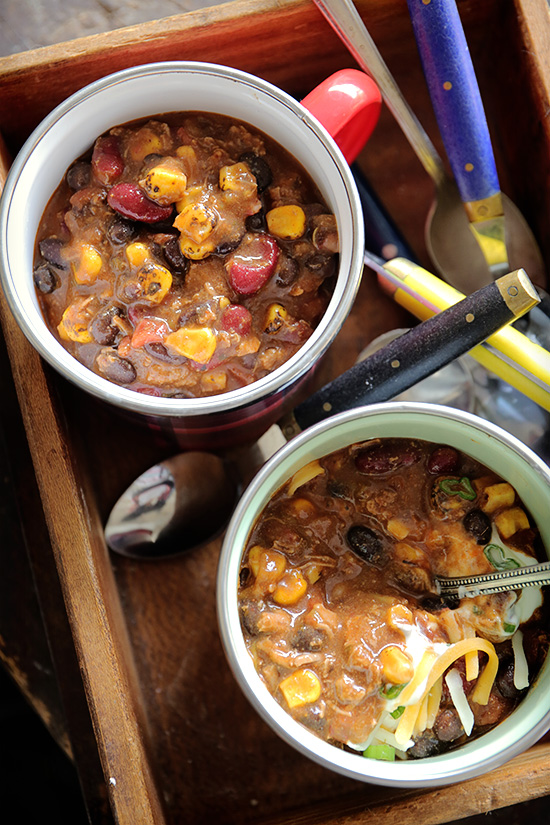 Easy Weeknight Chili with Real Food by Dad