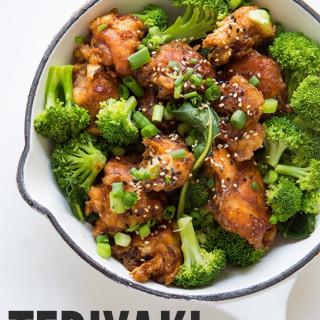 Teriyaki Chicken and Broccoli via Real Food by Dad