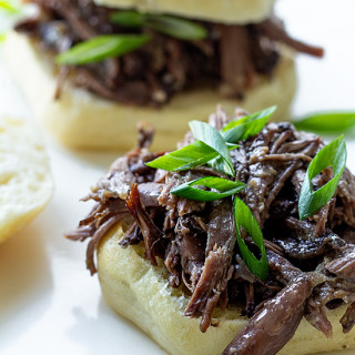 Beer Braised Short Rib Sliders Real Food by Dad