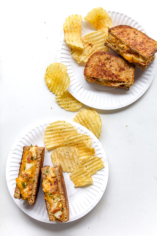 Cheddar Ranch Chicken and Bacon Melt - Real Food by Dad
