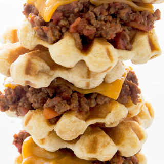 Waffled Sloppy Joe Sliders Real Food by Dad