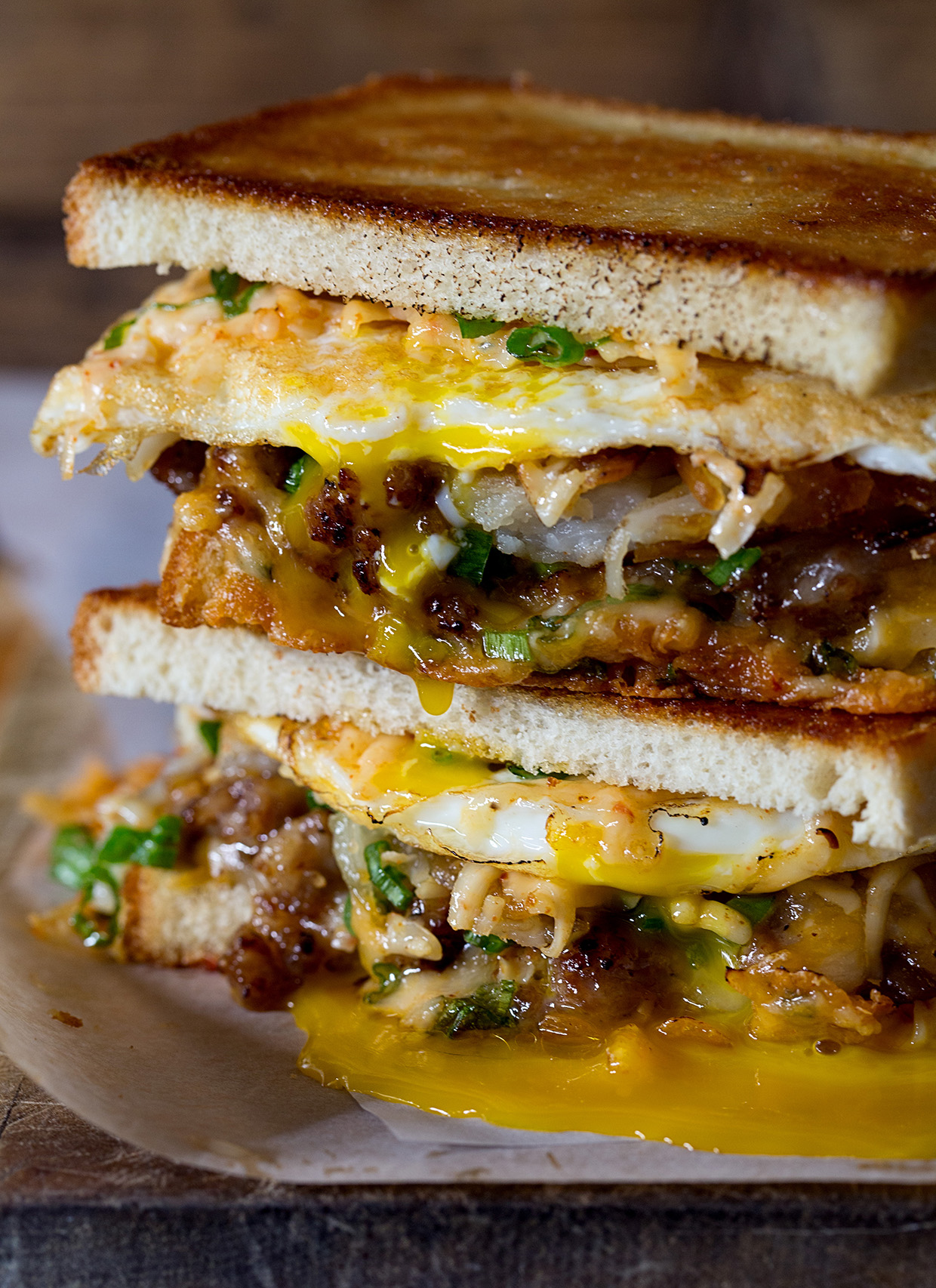 Breakfast Grilled Cheese - Real Food by dad
