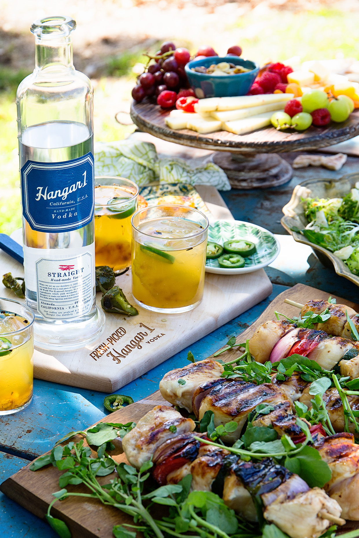 Grilled Pineapple and Jalapeno Caipiroska _ Real Food by Dad