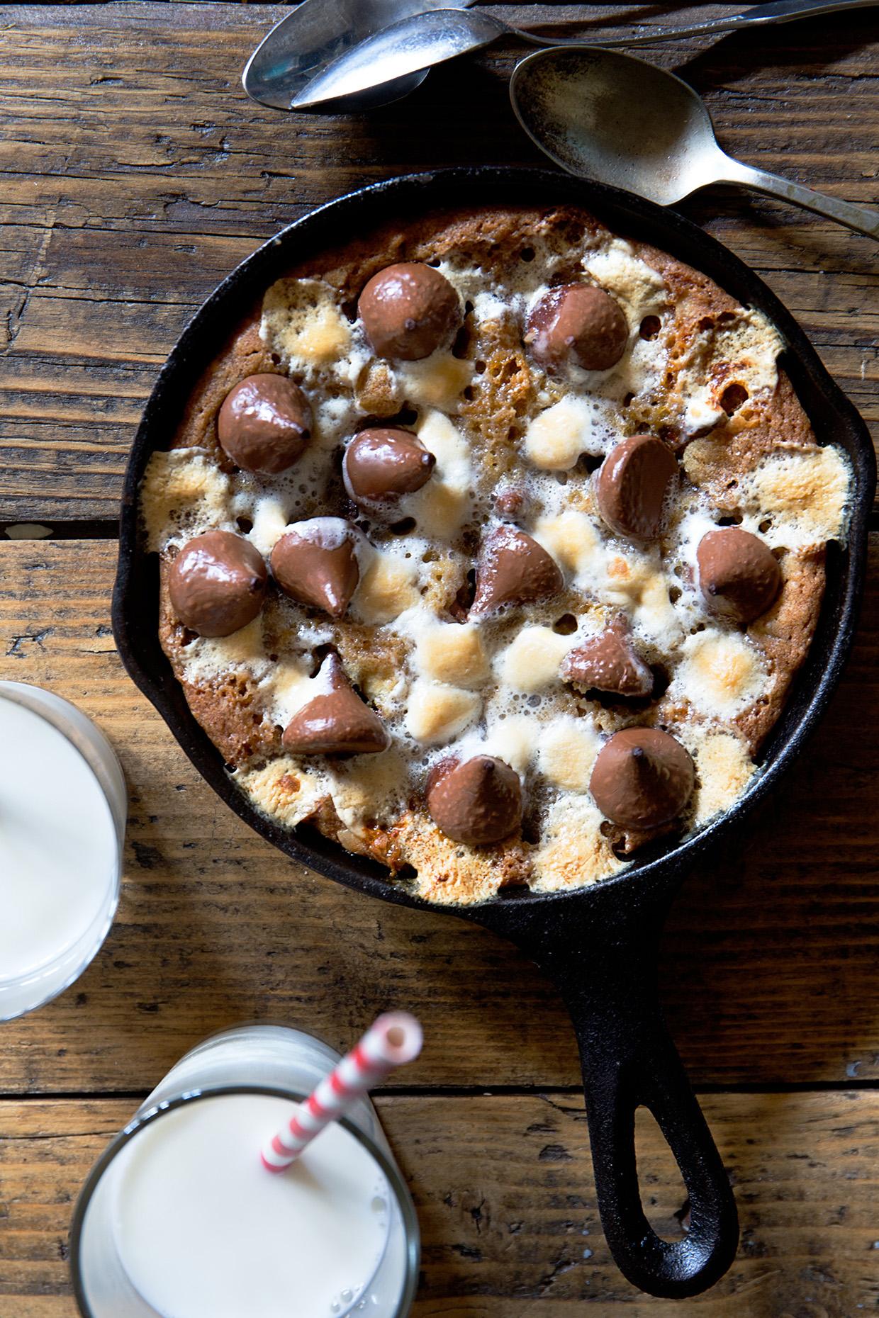 Smores Skillet Cookie | Real Food by Dad