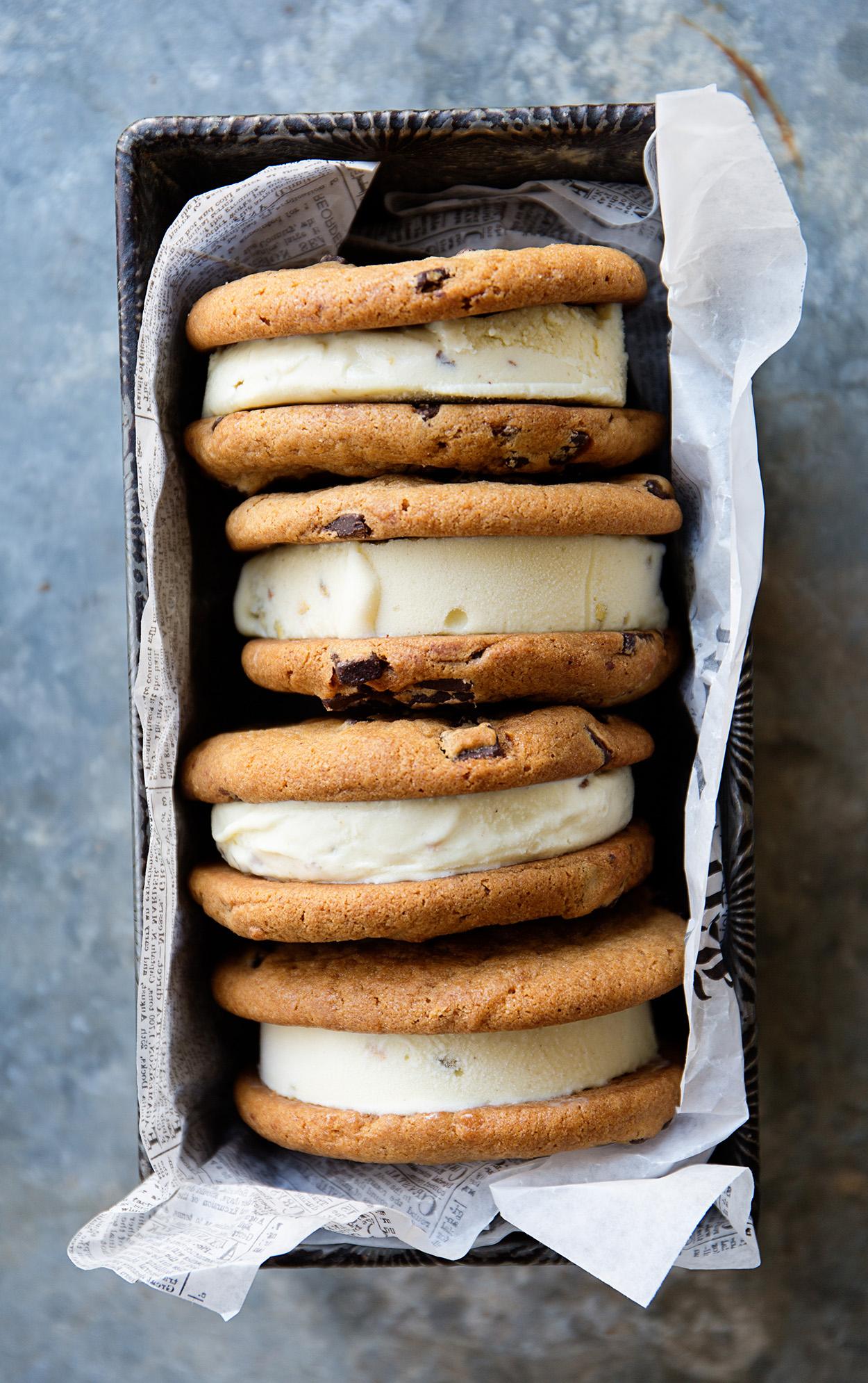 Otis Spumkmeyer Chocolate Chunk Ice Cream Sandwiches | Real Food by Dad