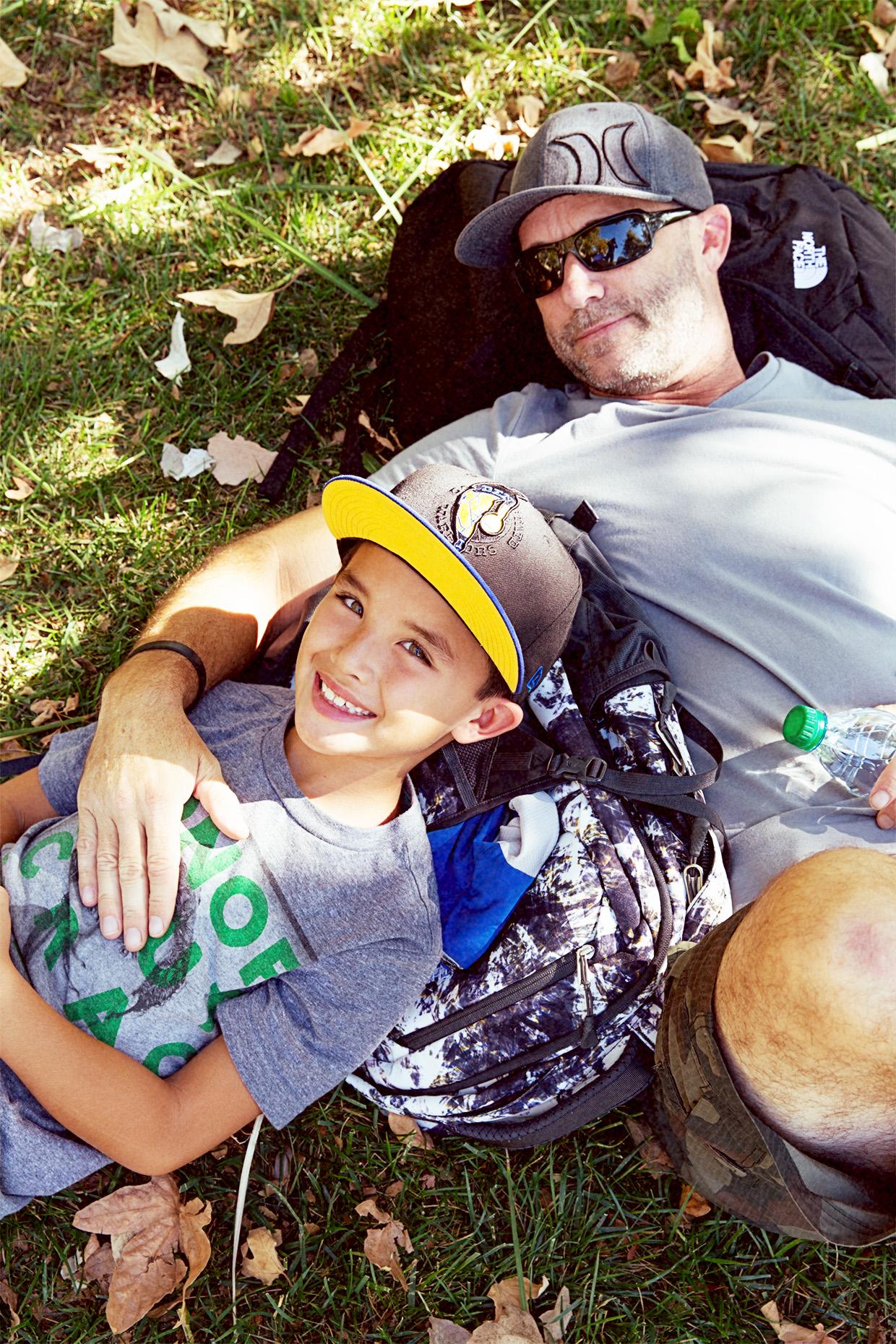 Cole and Matt on Grass Vertical
