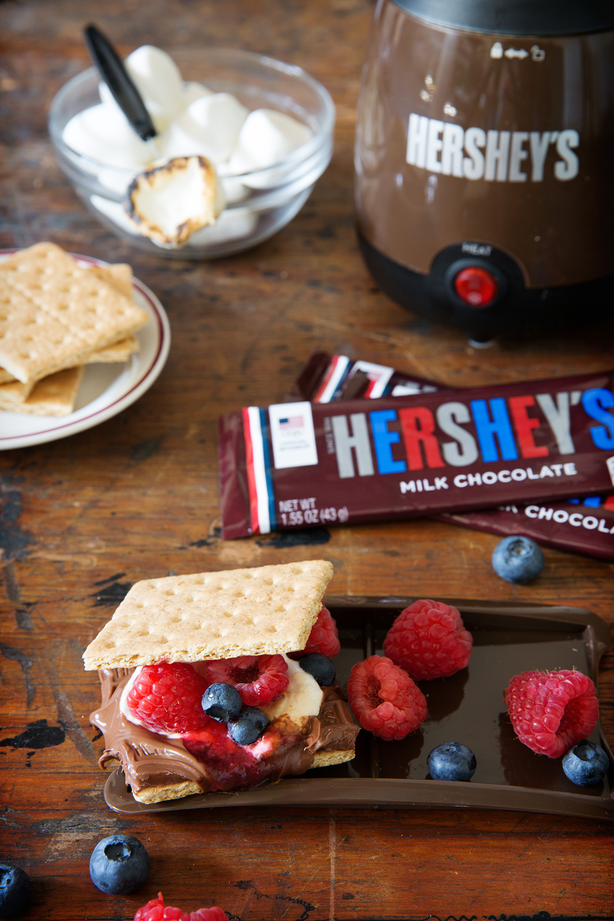 Fruit Filled S'mores - Real Food by Dad