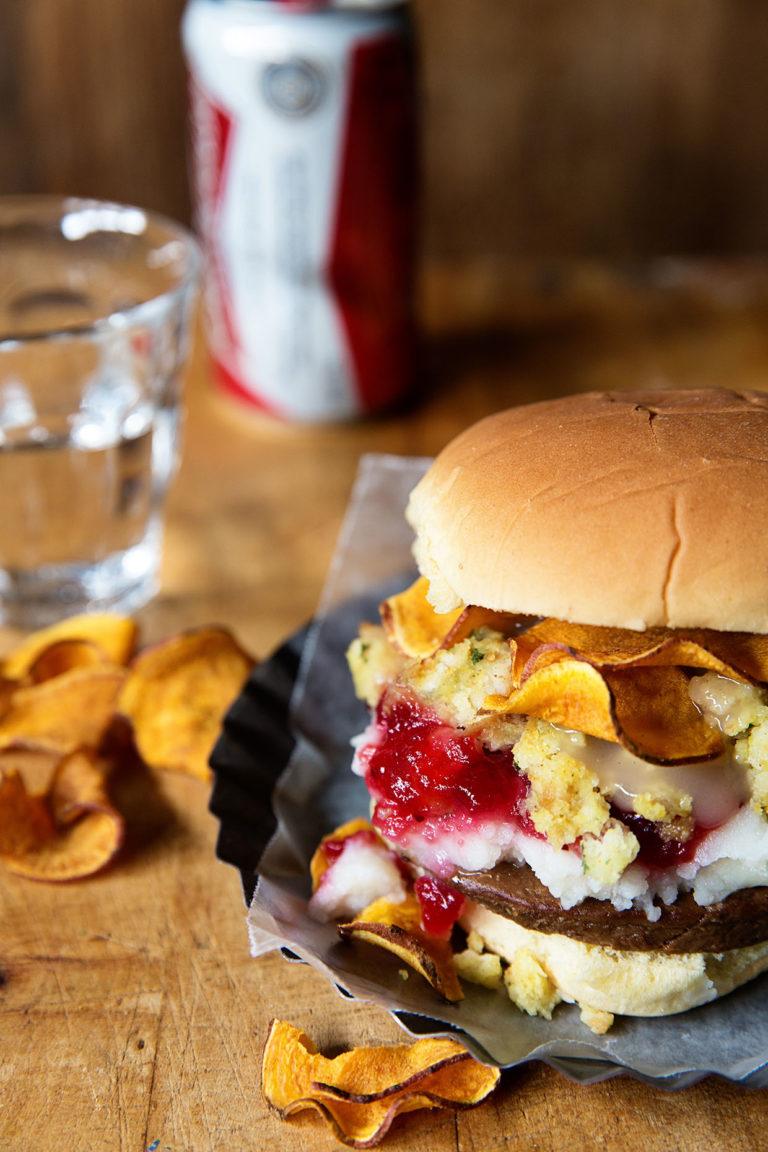 Thansgiving Burger Real Food by Dad