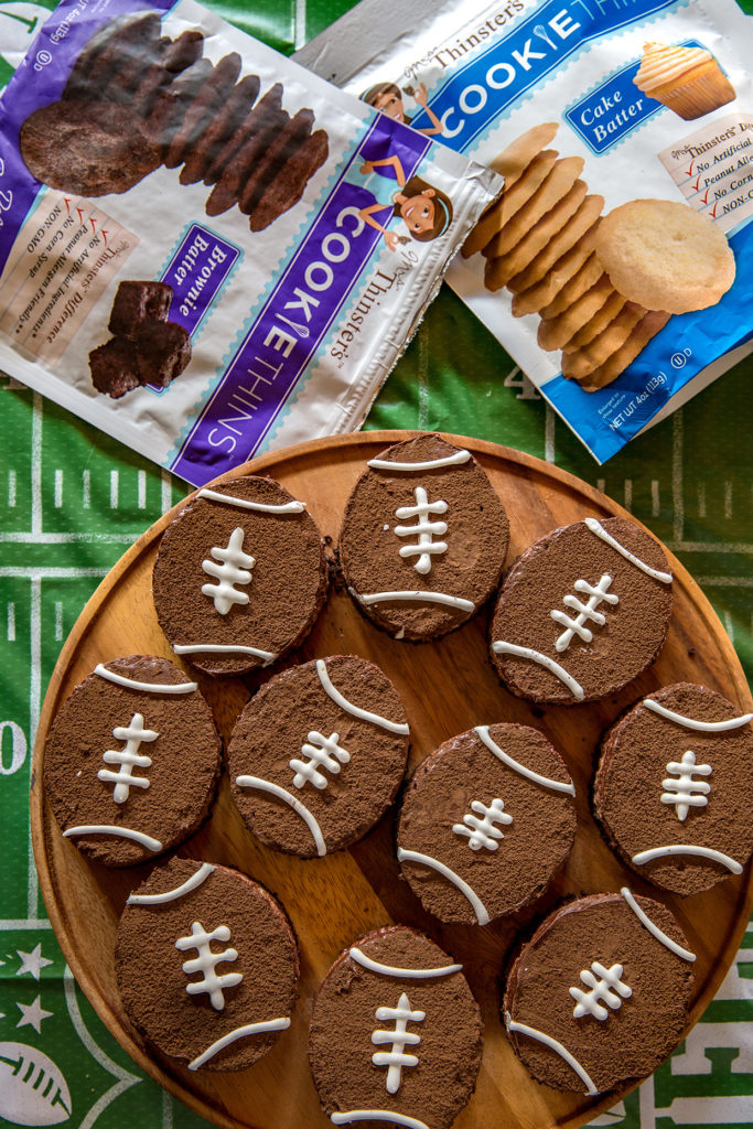 Brown Bottom Rice Krispie Football Treats 1